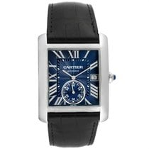 Cartier Tank MC Steel 34.3mm Blue Roman numerals United States of America, Georgia, Atlanta