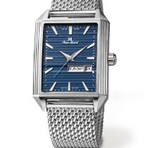 Jean Marcel new Automatic Display back Central seconds Limited Edition 35mm Steel Sapphire crystal