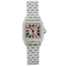 Cartier Santos Demoiselle pre-owned 21.65mm Mother of pearl Steel