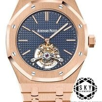 Audemars Piguet 26510OR.OO.1220OR.01 Rose gold 2018 Royal Oak Tourbillon 41mm new
