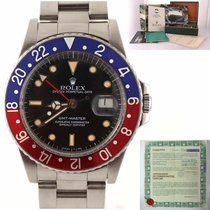 Rolex 16750 Steel GMT-Master 40mm pre-owned United States of America, New York, Huntington