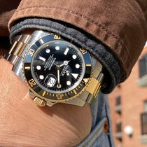 Rolex Submariner Date Gold/Steel 40mm Black No numerals United States of America, Massachusetts, Boston