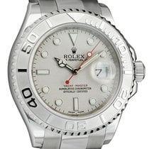 Rolex Platinum 40mm pre-owned Yacht-Master 40
