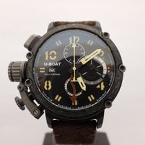 U-Boat Chimera pre-owned 48mm Black Chronograph Date GMT Buckle