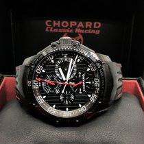Chopard Superfast tweedehands 45mm Zwart Chronograaf Leer