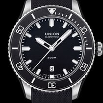 Union Glashütte new Automatic Display Back Center Seconds Luminescent Hands Rotating Bezel Screw-Down Crown Luminous indexes 45mm Steel Sapphire crystal