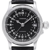 Longines Twenty-Four Hours Steel 47,50mm Black