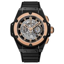 Hublot King Power Unico 48mm Automatic Ceramic Mens Watch...