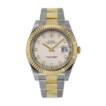 Rolex Datejust II Gold/Steel 41mm White No numerals United States of America, New York, New York