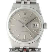 Rolex Oyster Perpetual Air King Date Steel 34mm Silver Dial...