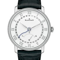 宝珀 6653Q-1127-55B Villeret Date 30 Seconds Retrograde Wht Dial