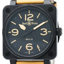 벨앤로스 (Bell & Ross) Aviation Steel Automatic Mens Watch ...