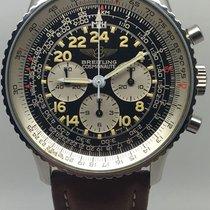 Breitling Navitimer Cosmonaute Acier Noir Arabes