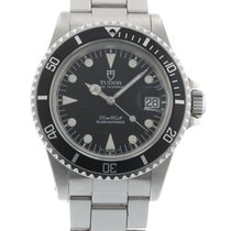 Tudor Submariner Prince Date 79090 Watch with Stainless Steel...