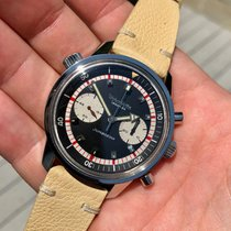 Wyler Chronograph 41mm Manual winding 1960 pre-owned Black