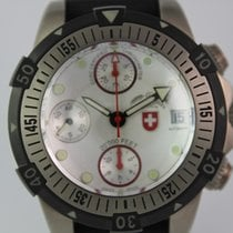 Swiss Military CX 20´000 Feet Diving Watch #A3445 2x Band Box,...