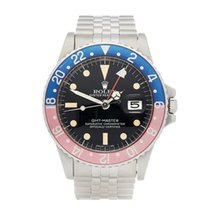 Rolex GMT-Master Pepsi Stainless Steel Men's 1675 - W5407