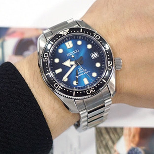 Seiko Special Edition 1968 Prospex Great Blue Hole SPB083J1 for ... 559c9827b4d