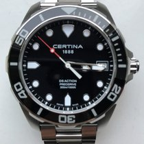 Certina DS Action pre-owned 41mm Aluminum
