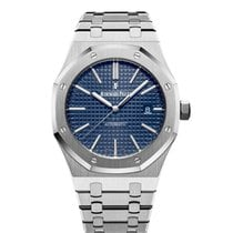 Audemars Piguet Royal Oak Selfwinding pre-owned 41mm Blue Date Steel