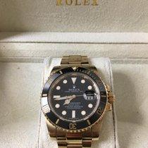 Rolex Submariner Date occasion 40mm Or jaune