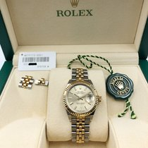 Rolex Lady-Datejust Gold/Steel 28mm Champagne