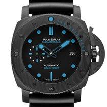 Panerai Carbon Automatic Black 44mm new Luminor GMT Automatic