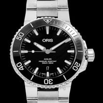 Oris Aquis Date Steel 43.5mm Black United States of America, California, San Mateo
