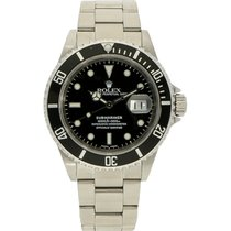 Rolex 16610 Staal 2002 Submariner Date 40mm tweedehands Nederland, Amsterdam