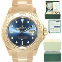 Rolex Yacht-Master 40 Yellow gold 40mm Blue