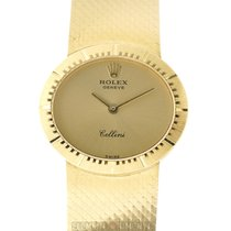 Rolex Cellini pre-owned 26mm Champagne Yellow gold