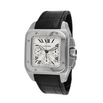 Cartier 2740 Steel Santos 100 41mm pre-owned United States of America, New York, New York