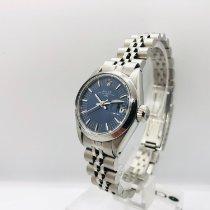 Rolex Lady-Datejust Zeljezo 26mm Plav-modar Bez brojeva