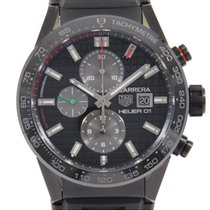 TAG Heuer 43.5mm Automatic CAR201N.EB0115 pre-owned