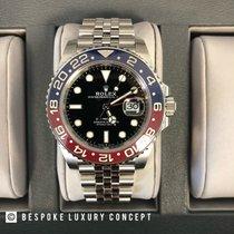 Rolex GMT-Master II Çelik 40mm Siyah Sayılar yok