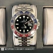 Rolex GMT-Master II Steel 40mm Black No numerals United Kingdom, LONDON
