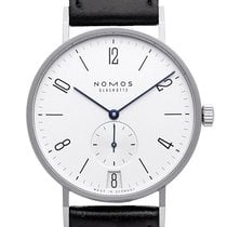 NOMOS Tangente 38 Datum 130 New Steel 37.5mm Manual winding