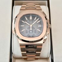 Patek Philippe Rose gold 40.5mm Automatic 5980/1R-001 new