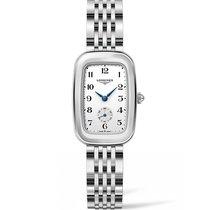 Longines Steel Quartz White Arabic numerals 24.7mm new Equestrian