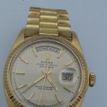 Rolex Day-Date 36 Жёлтое золото 36mm Белый Без цифр