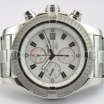 Breitling A1337011/B973 Steel Super Avenger 48mm pre-owned United States of America, New York, Greenvale