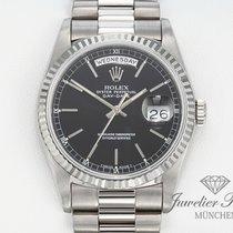 Rolex Daydate Weissgold 750 18239 Automatik 36 mm Day Date