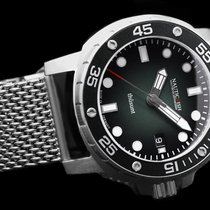 Nauticfish Steel 43mm Automatic Thûsunt zwarz vintage w/ steel bracelet new