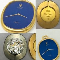 Rolex Cellini Rare 1970/80s 18Kt YG Rolex Cellini Pocket Watch w/ Satin Bl 1970 pre-owned