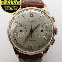 Universal Genève Kronograf 37mm Manuell uppvridning begagnad Compax