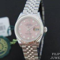 Rolex Lady-Datejust Ocel 28mm Růžová