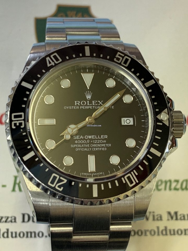 5abe3eca973 Rolex Sea-Dweller 4000 - Tutti i prezzi di Rolex Sea-Dweller 4000 su  Chrono24