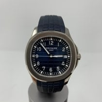 Patek Philippe Aquanaut Or blanc 42.2mm Bleu Arabes