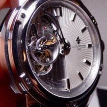 Louis Moinet 43.5mm Automatic 2010 new Mecanograph Silver