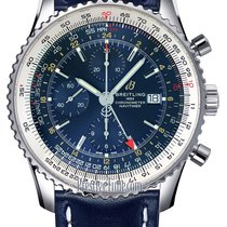 Breitling Navitimer GMT new Automatic Chronograph Watch with original box